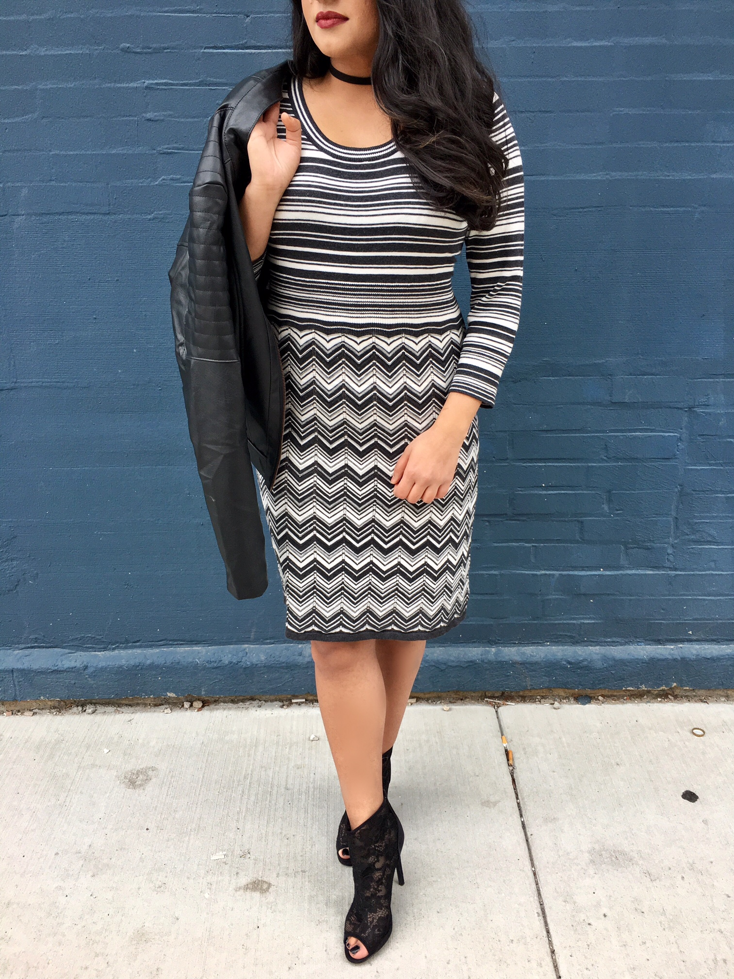 chevron-sweater-dress__