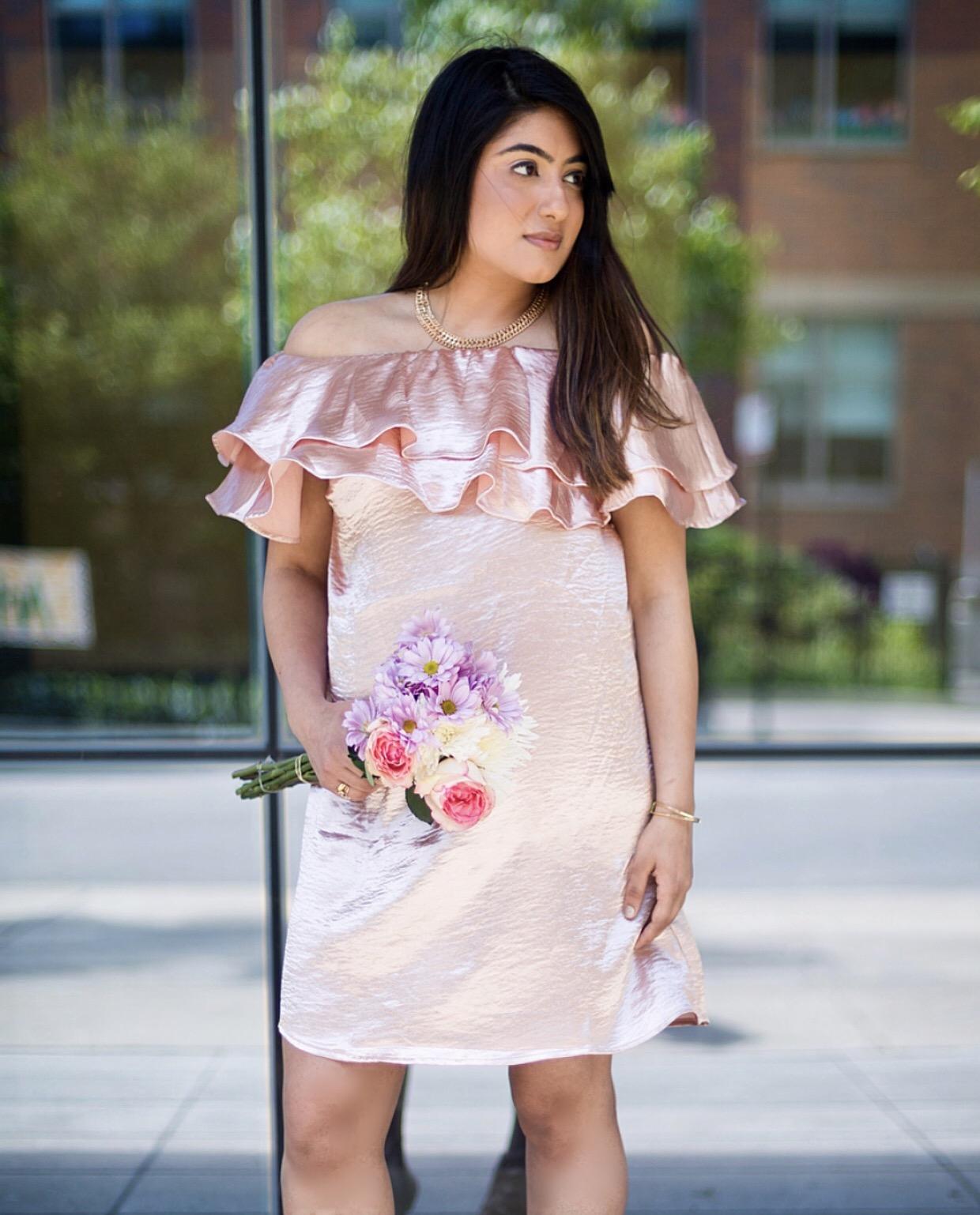 Satin Dress Forever