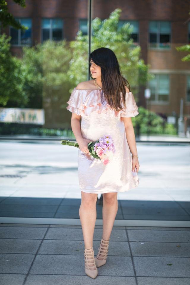 Satin Dress_Forever 21